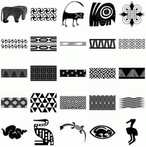 Африканский стиль мехенди