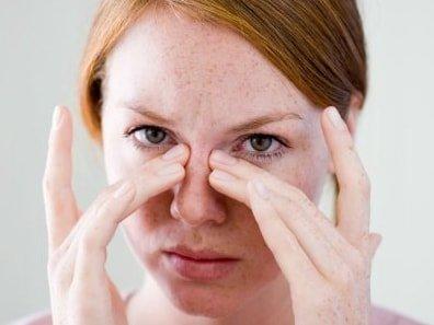 Зуд при аллергии на наращивание