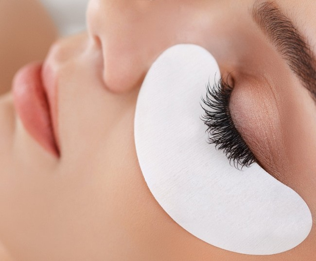 Материалы для наращивания ресниц. Подушечки для глаз