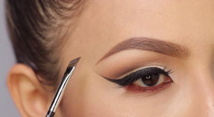 Как правильно красить брови карандашом, тенями, хайлайтером