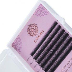 Черные ресницы mix 6 линий
