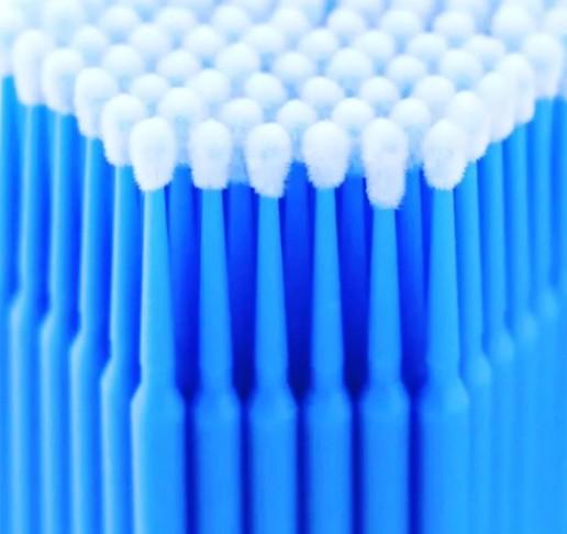 Микробраши синие 100 штук
